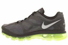 Nike Air Max 2012 Black Volt Mens Running Shoes 360 487982-017 Price: $195.20 www.brandicted.com/quiz/nike