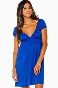 Michelle Dress in Royal / ShopSosie #shopsosie #sosie