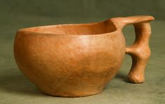 Another Kuksa by Sean Hellman, this time in Apple. Simply stunning design and workmanship!