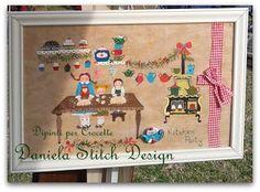 La Casetta Dei Dipinti -Daniela Stitch Design: Kitchen Party