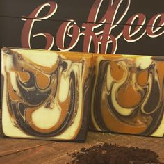 Cafe Noir. A rich dark roast scent and contains real Turkish coffee grounds.