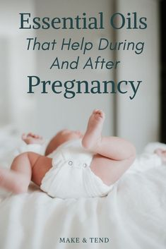 Should you use essential oils for pregnancy and postpartum? See which oils to use and which to avoid during and after pregnancy. Essential Oils For Pregnancy, Therapeutic Essential Oils, Essential Oils For Headaches, Essential Oils For Skin, Essential Oil Uses, Young Living Essential Oils, Gentle Baby Young Living, Best Oil For Skin, Easential Oils