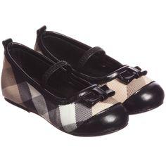 Burberry Girls Beige Nova Check Shoes Zapatos 3c027339e11