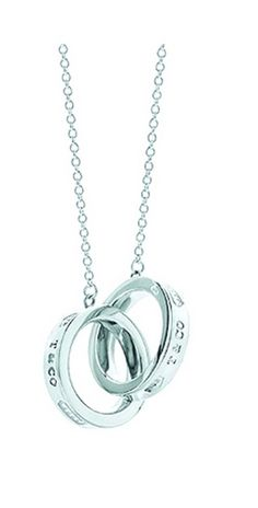 Tiffany Necklaces Jewelry Silver Double Circles Cross Necklace This Tiffany Jewelry Product Features: Category:Tiffany & Co Necklaces Material: Sterling Silver Manufacturer: Tiffany And Co