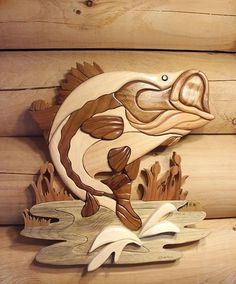 Wooden Fish Wall Decor fish wall decor hand carved monkey pod wood thai art 20 x 30 on