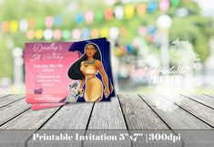 image 0 Pocahontas Birthday Party, Daisy, Bags Game, Treat Bags, Party Cakes, 1, Invitations, Handmade Gifts, Image
