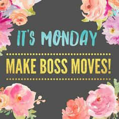 Monday is back and we're here to kick its. Show it whose boss! Monday Motivation Quotes, Monday Quotes, Motivational Monday, Body Shop At Home, The Body Shop, Plexus Products, Pure Products, Makeup Products, Salon Quotes