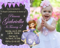 Sofia the first birthday party invitation by fantasticinvitation on sale 30 sofia the first invitation sofia the por ticketparty stopboris Image collections
