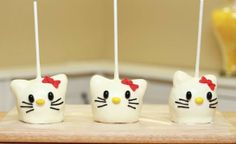 Bocaditos de Hello Kitty - Manzanas Caramelizadas