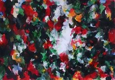 Small works Ⅳ-2014-09-21 380×540(mm) acrylic on paper