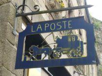 La Poste - Montcontour, Côtes d'Armor (Bretagne)