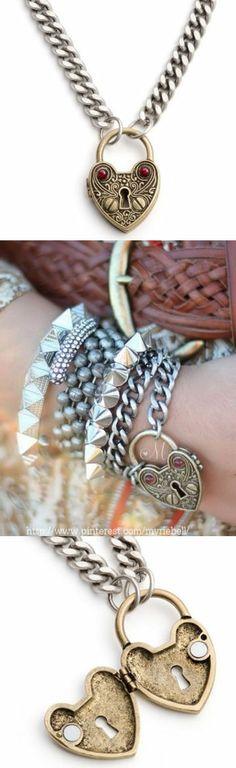 You got the Key to my Heart ♥ #necklace #bracelet #jewelry
