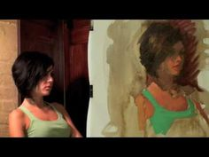 Oil Painting Demo- portrait in 2 hrs  No 4   Heather