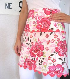 Blooming fabulous apron