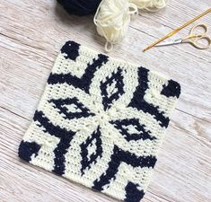 Ravelry: Midnight Diamond Blanket pattern by Catherine Noronha Crochet Squares, Crochet Granny, Crochet Blanket Patterns, Crochet Stitches, Crochet Hats, Aran Weight Yarn, Manta Crochet, Paintbox Yarn, Tapestry Crochet