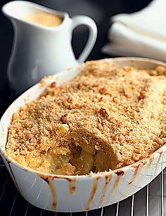 Healthy apple pie / earth diet
