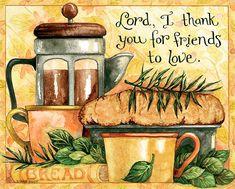 Diane Knott / Abundant Friendship / November 2016