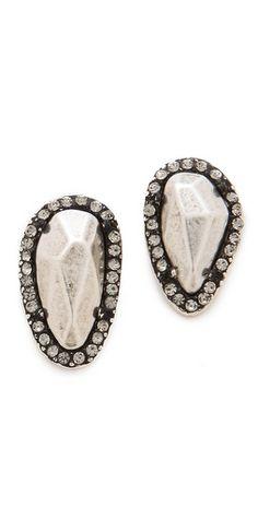 House of Harlow 1960 Rif Pebble Stud Earrings