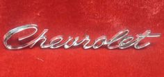 1966 CHEVROLET IMPALA BELAIR BISCAYNE TRUNK LID NAMEPLATE REPRODUCTION