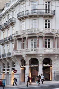 Lisboa - Liberdade e Castilho #Lisboa #Liberdade #AvLiberdade #Castilho #MaxMara