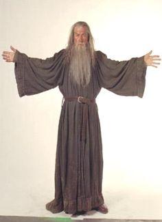 Gandalf under robes