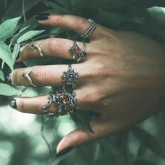 ※※ New Lines Added Today! ☽ ◯ ☾ As the nights draw it, it's time to entwine yourself with the dark ∕∕∕ shop the stack at ☽ ◯ ☾ ※※ www.shopdixi.com ※※ witchy // bohemian // grunge // boho // jewelry // jewellery // shop dixi // labradorite // opal // garnet // thorn // winter is coming