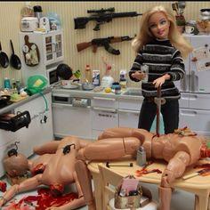 Barbie gone bad