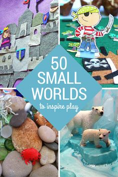 50+ Pretend Play Spaces to Inspire Playful Learning | you clever monkey Tuff Spot, Play Based Learning, Learning Through Play, Kids Learning, Sensory Bins, Sensory Play, Baby Sensory, Small World Play, Messy Play