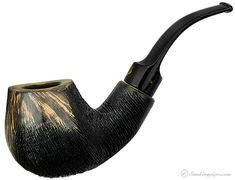 Winslow: Crown Partially Rusticated Bent Apple Sitter (Viking)