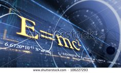 PHYSICS, SCIENCE. ABSTRACT BACKGROUND WITH DIFFERENT FORMULAS. E=mc2