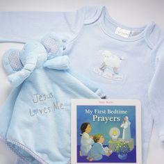 Unique Catholic Baptism Christening Baby Gift - New Baby Gift Set