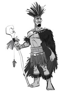 Today, Matai Wasa: The great ancestor who led his people over the oceans...