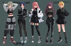 hayami kanade ichinose shiki jougasaki mika pantyhose tagme the idolm the idolm cinderella girls thighhighs yang-do . Youth Subcultures, Modern Street Style, Crop Top Hoodie, Friend Outfits, Harajuku Fashion, Renaissance Art, Anime Outfits, Character Outfits, Character Design Inspiration