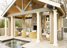 covered patio designs - Bing Images