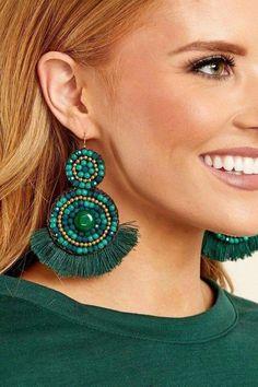 Cluster Earrings- statement earrings/ cluster studs/ sophisticated earrings/ amber earrings/ bridesmaid gift/ gifts for her/ birthday gift - Fine Jewelry Ideas, Diy Abschnitt, Amber Earrings, Tiny Stud Earrings, Green Earrings, Circle Earrings, Beaded Earrings, Cluster Earrings, Gold Earrings, Pendant Necklace, Tassel Jewelry