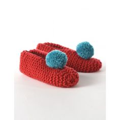 Free Easy Slippers Knit Pattern