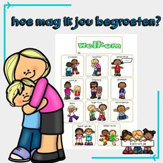 how can i greet you - catrot School Info, 1st Day Of School, School Fun, Primary School, Pre School, Back To School, Dutch Language, Leader In Me, School Items