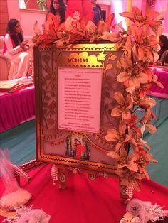 First wedding card presentation Wedding Cards, Wedding Events, Wedding Gifts, Wedding Ideas, Weddings, Invitation Cards, Wedding Invitations, Invite, Marriage Decoration