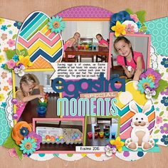Using Get Festive : Easter template by Cindy Schneider  and It's a Spring Thing by WendyP Designs and Juno Designs