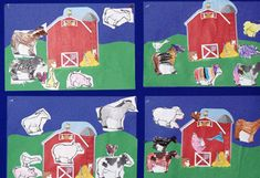 Barnyard craft plus lots of other Early Elementary Farm Theme ideas - including centers, math, science, literacy, etc...