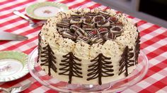 Make Mary Berry's own black forest gateau cake, which is a showstopper challenge in Season 3 of The Great British Baking Show on PBS Food.