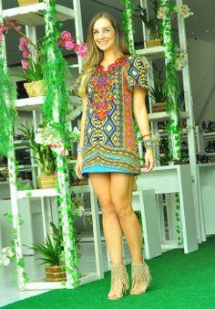 vestido curto verao 2014