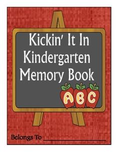 What a fun end-of-the-year memory book!  This is such a cute book for the students to illustrate and complete about their favorite things they did this year. The parents will cherish this memory book for years to come!