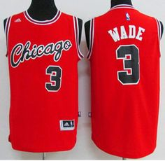 65053ab03 Brand New w/tags, NBA Dwayne Wade Chicago Bulls Throwback Jersey, Size  Medium, Available in Red, One Available