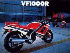 Honda VF1000R (1984).