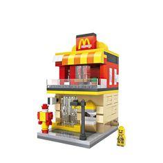 Street View Fruit Shop LOZ Diamond Building Blocks iBlock Fun 1645