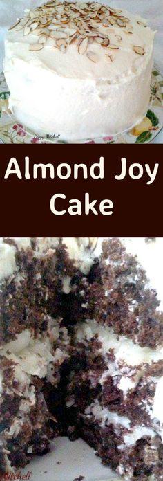 Almond Joy Cake   CookJino