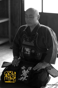 Meditation before a kendo's training in AizuWakamatsu. Photo © Flavio Gallozzi - All rights reserved. Kendo, Photo Story, Martial Arts, Samurai, Meditation, Training, Japan, Traditional, Dress