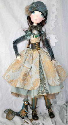 Коллекционные куклы ручной работы. Ярмарка Мастеров - ручная работа Авторская кукла Франческа. Handmade.
