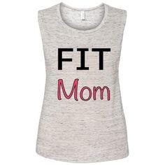 Women's Fit Mom Muscle Tee
